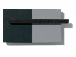 Foamboard black/grey, black core