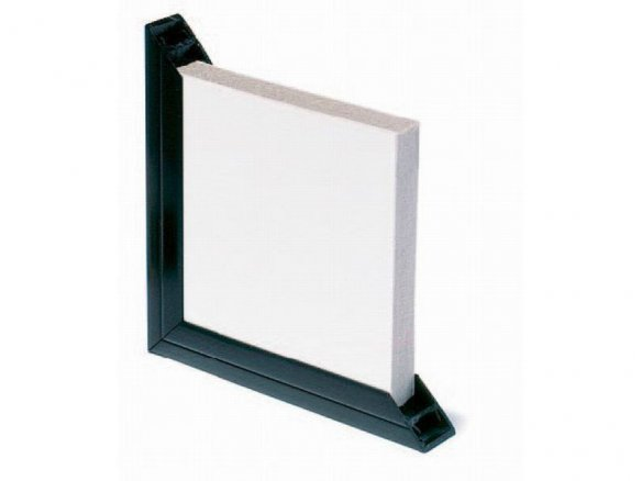 Rigid PVC frame profile