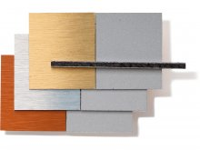 Dibond panel compuesto de aluminio/PE, pulido