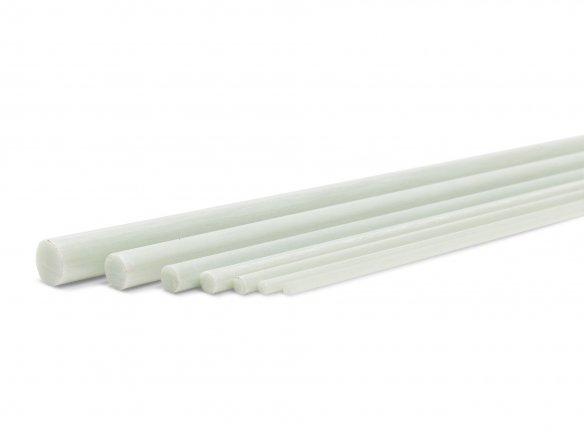 Barra redonda de fibra vidrio (PRFV)