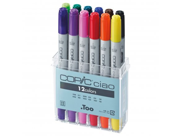 Copic Ciao, set of 12
