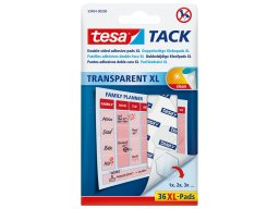 Tesa Tack double-sided adhesive pads, removable, XL