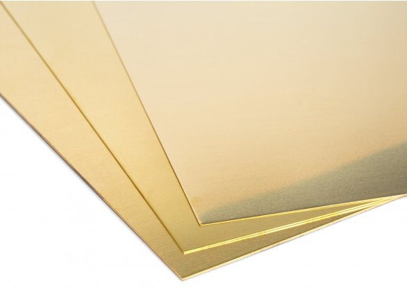 Brass sheets custom cutting