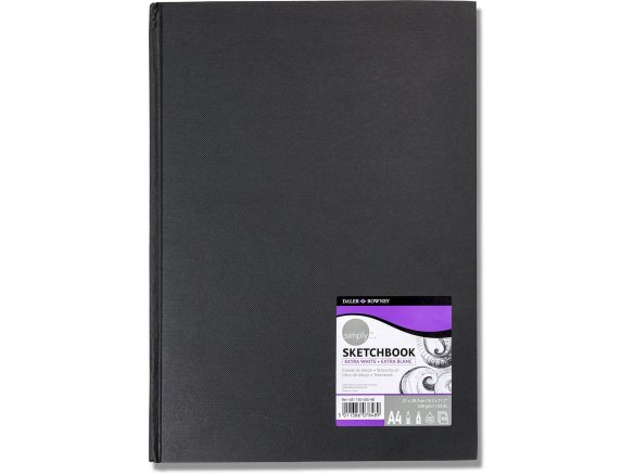 Daler-Rowney Simply sketchbook, extra white