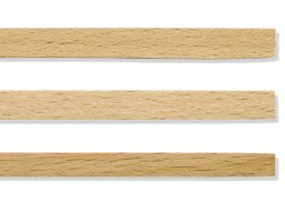 Beech rectangular moulding strips
