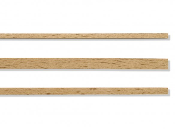 Beech cold bendable strip