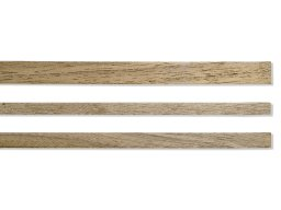 Right-angled walnut wood moulding strip