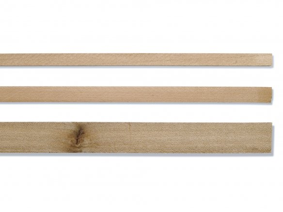 Right-angled pear tree wood moulding strip