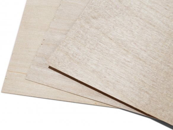 Sperrholzplatten 8mm Birke Bastelholz 18€//m² Holzplatte Modellbau Sperrholz