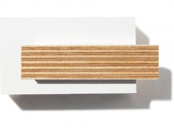buy birch plywood melamine resin coated white online at modulor. Black Bedroom Furniture Sets. Home Design Ideas