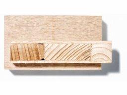 Tablero alistonado de madera del Gabón (Okumé)