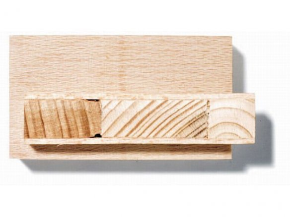 Asse in legno del Gabon