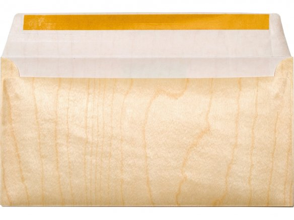 Sobre de chapa sobre papel Microwood