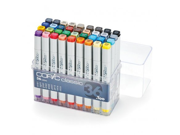 Copic Marker, 36er-Set