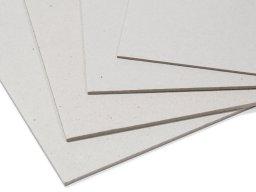Cartone grigio, liscio/liscio