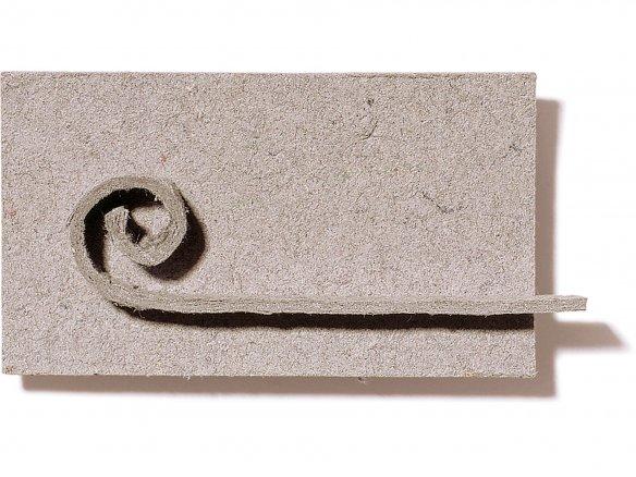 Cartonfeltro grezzo, grigio