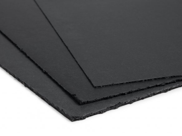 Solid fibreboard, black