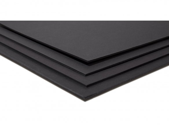 Modulor presentation board, matte, deep black