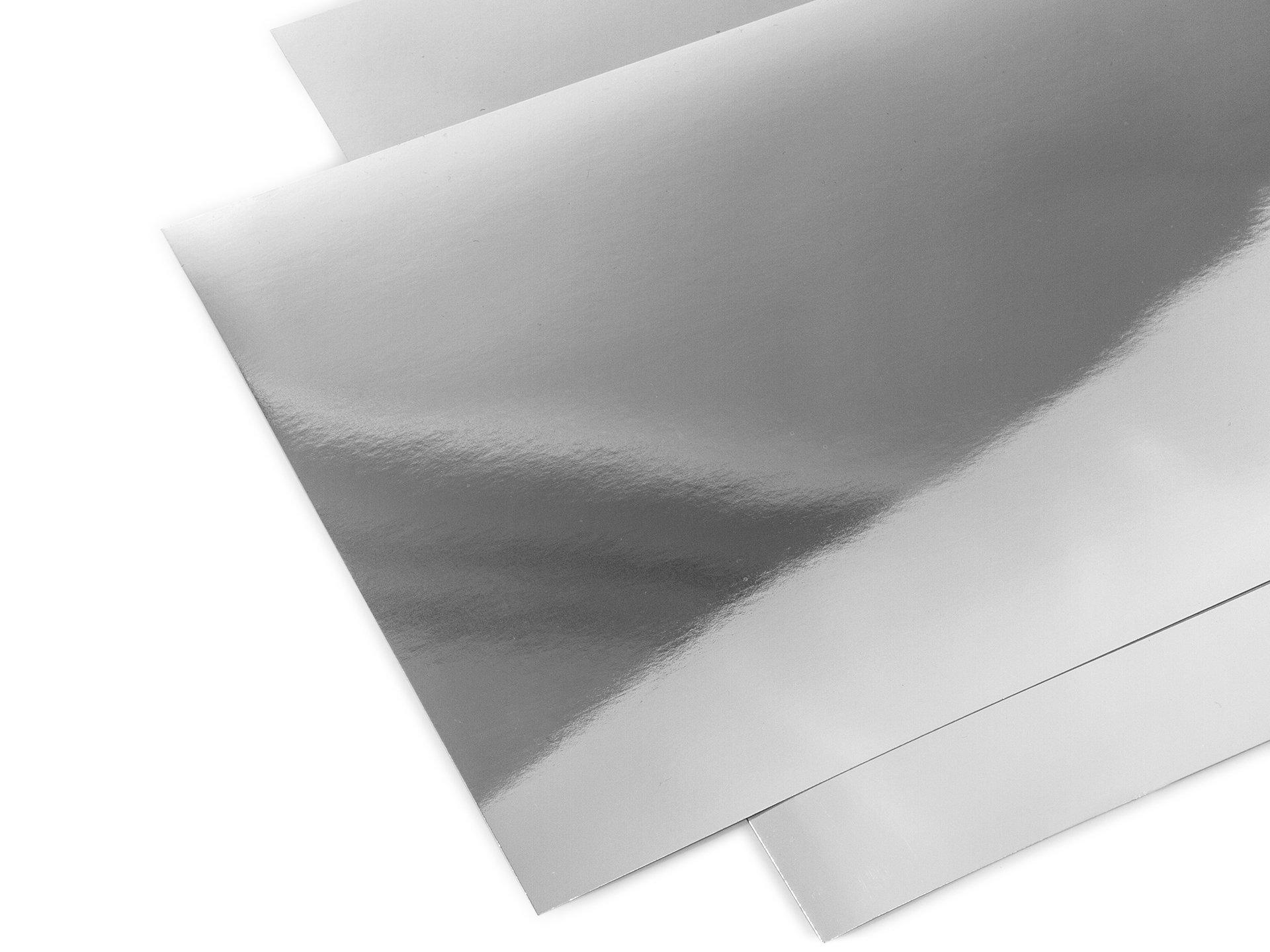 Acrylglas XT Spiegel, silber, glatt im Zuschnitt oder Standardformat ...