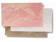 Baroque board, embossed, shimmering