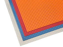 Small perforated board, RG 1.8/5.0
