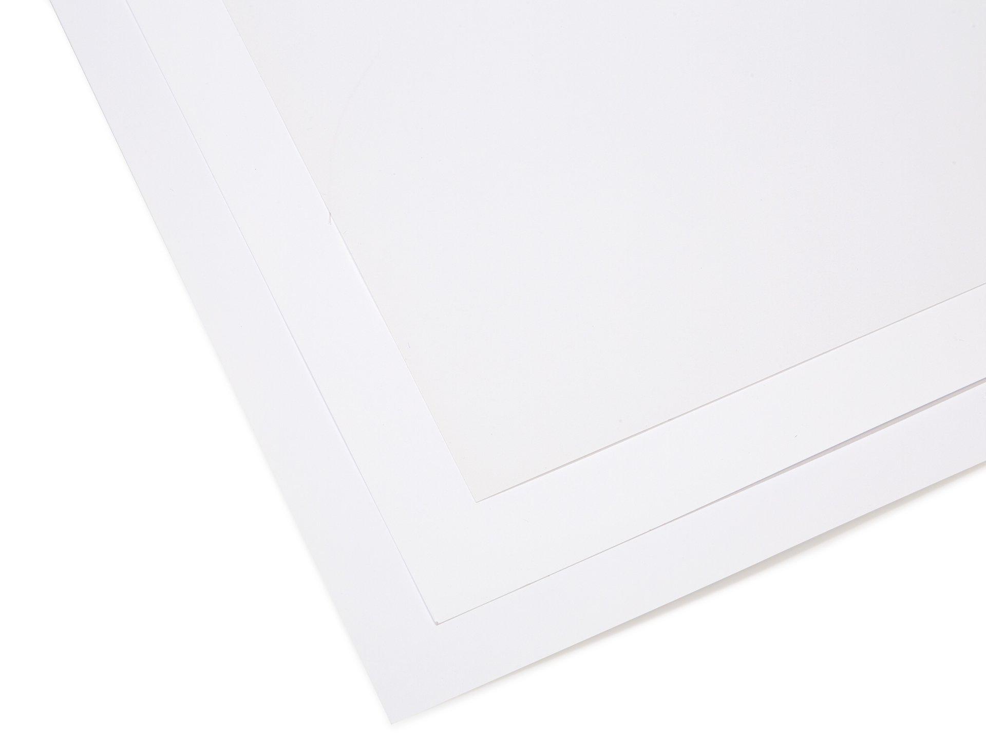 Papier/Karton weiß, matt gestrichen kaufen | Modulor