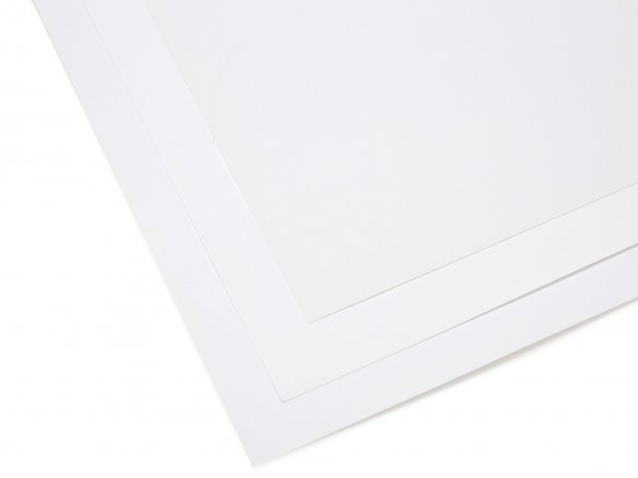 Paper/board, white, matte coated