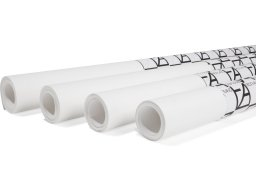 Drawing paper roll ''Accademia'', white