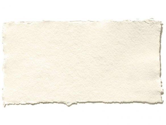 Carta di stracci Khadi, bianca