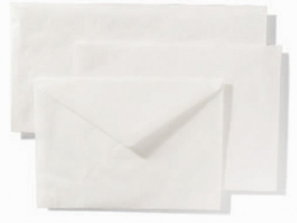 Glassine paper envelopes