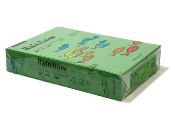 Rainbow colour copy paper
