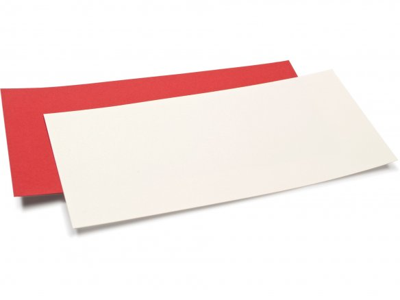 Artoz 1001 DIN long card, simple, coloured