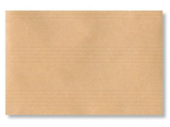 Packpapier Bogen, notenliniengerippt