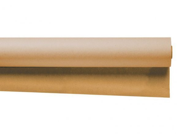 Masking paper roll, brown