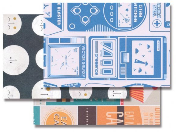 Urban Graphic gift wrap paper