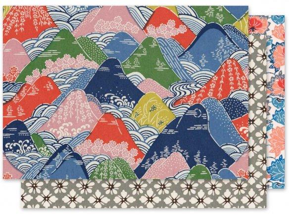 Papel japonés Katazome