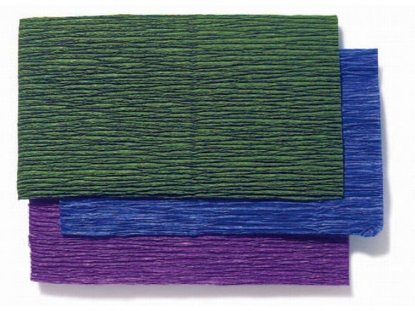 Florist quality crepe paper rolls, coloured
