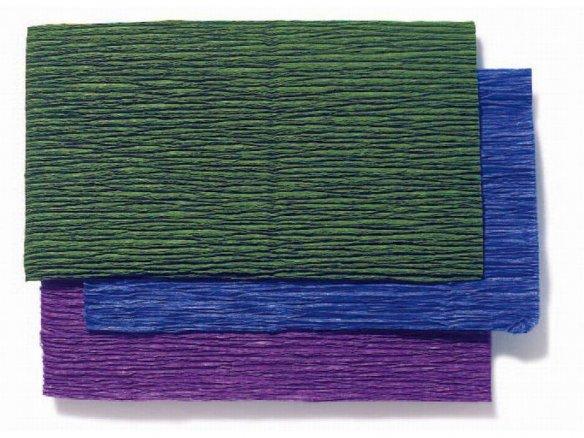 Gärtnerkrepp-Papier Rollen, farbig