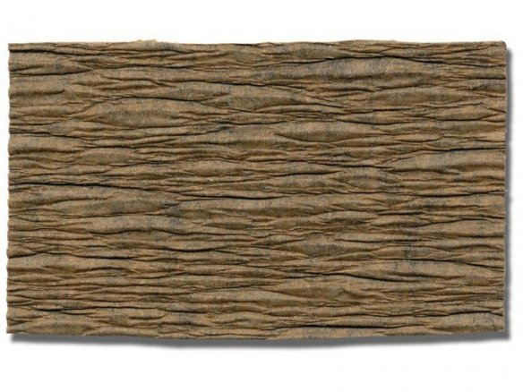 Landscape crepe paper, brown