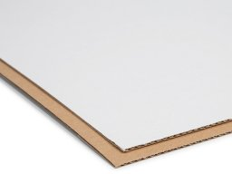 Micro-corrugated board, double-sided