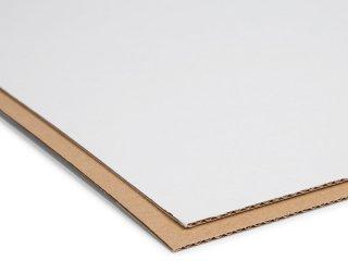 31,68€//m² Siebdruckkarton DINA3 2,0mm beidseitig weiß kaschiert Siebdruckpappe