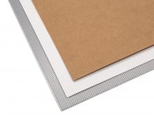 Nano-corrugated board, one-sided, sheet, coloured