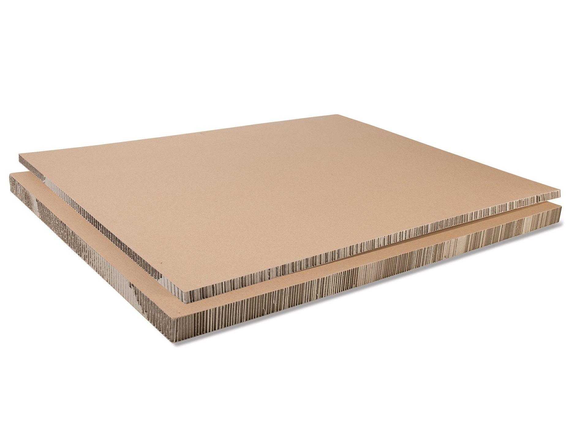 comprar panel cart n panal abeja revest de papel marr n online modulor. Black Bedroom Furniture Sets. Home Design Ideas