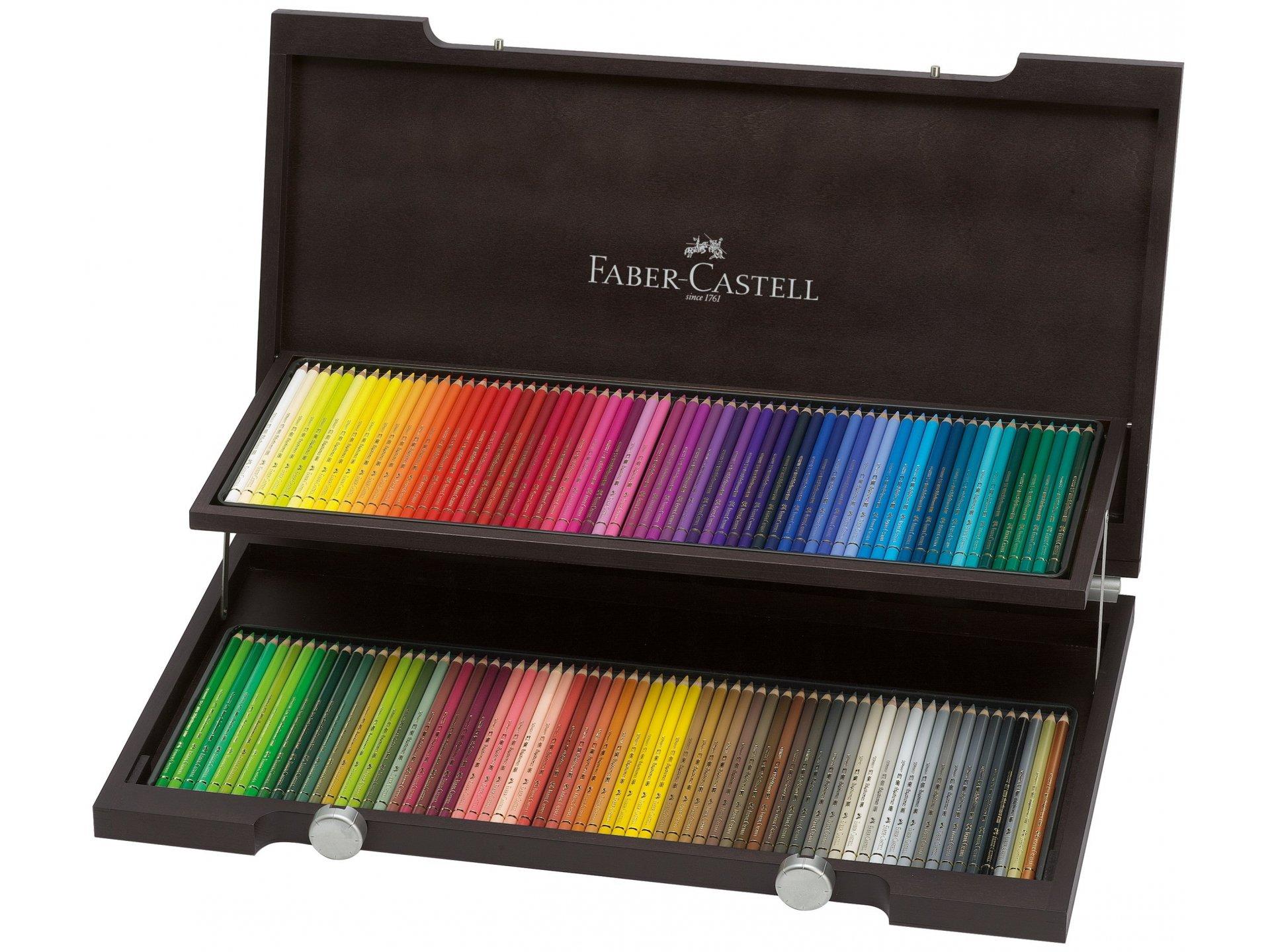 Free Ship New Tin of 120 Faber Castell Polychromos Color Pencil Set