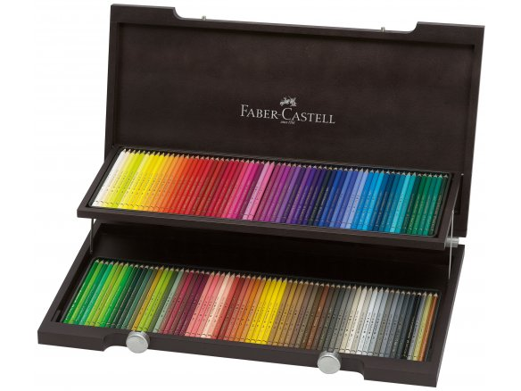 Faber Castell Polychromos coloured pencil, set of 120