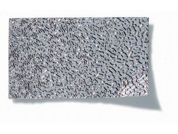 Foglio d'alluminio martellato