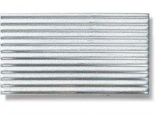 Lamiera d'alluminio finemente ondulata
