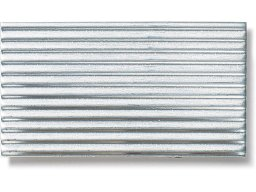 Aluminium fine-corrugated sheets (custom cutting available)