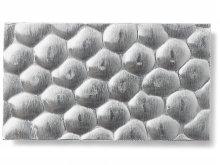 Chapa de aluminio martillada