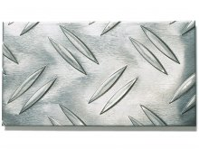 Aluminium chequer plate, Duett W2